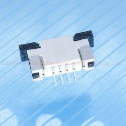 引出しのタイプ1.0mmピッチ4pinの上部の引出しFPCのコネクターPCBのコネクター