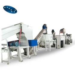 Usina de Reciclagem de Garrafas Pet sujo para limpar os flocos de PET
