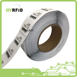 De Flexibele Markering RFID van Stickers NFC voor het Beheer van de Inventaris (OVERLAPPING)