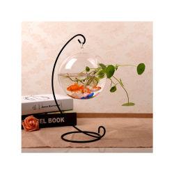 زخرفة مبتكر زجاجيّة بينيّة يعلّب ماء ثقافة إناء زهر زخرفة شفّافة [إيوروبن] رومانسيّ فنّ [فيش تنك]