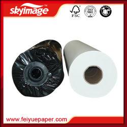 A sublimação Papel em rolo alta taxa de transferência 100gsm para tecido de fibra, canecas e placas de cerâmica Imprimir