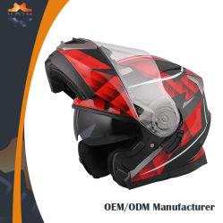 Material ABS de alta densidade Motor lavável capacete integral do rosto /Flit capacete para cima/Capacete Modular