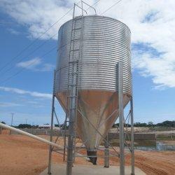 La capacidad de diferentes silos de almacenamiento de granos de acero o el contenedor de almacenamiento
