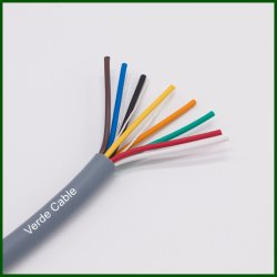 Multicore PVC 절연형 내열 전기 와이어 LSZH 기기 솔라 케이블 실드 크레인 장비 제어 케이블