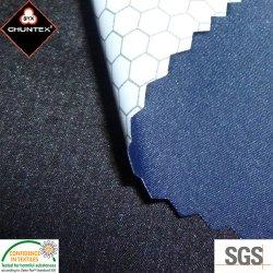 PU lamellierte wasserdichte Breathable Polyester-Rohseide Sports Kleidungs-Gewebe