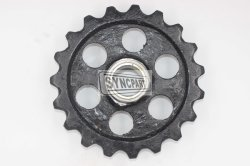 Jcb는 소형 크롤러 굴착기 바퀴 게으름쟁이 231/61701를 분해한다
