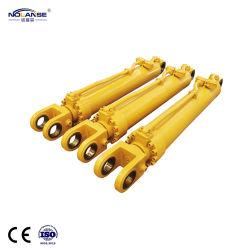 Diseño de fábrica no estándar o personalizados de acción individual de una etapa de doble efecto o multietapa del cilindro de aceite hidráulico