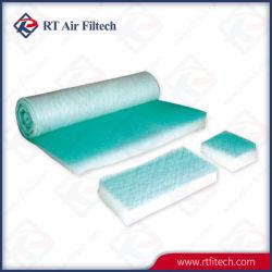 Cabine de peinture de pulvérisation-de-chaussée Filtre Filtre en fibre de verre pour la peinture de voiture