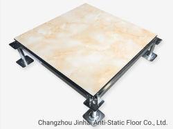 クリーンルームの陶磁器の終わりは上げられたアクセス床システムをガラス化した