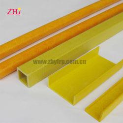 Труба квадратного сечения из стекловолокна для продажи, FRP профиль трубы квадратного сечения из стекловолокна