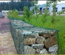 PVC du fil de fer galvanisé maille hexagonale Cages gabions