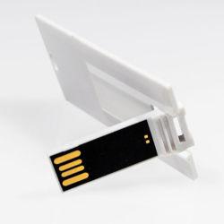 블랭크 카드 USB 스틱 화이트 USB 카드 펜드라이브 카드 썸드라이브