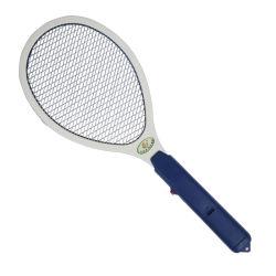 2 piles AA exploité Raquette à main électrique Swatter Mosquito Jardin d'accueil d'insectes volent Mosquito zapper