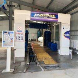 9 브러시 터널식 차량용 세척기 기계(드라이어 포함)