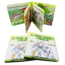 Baby-Dusche/Spielzeug-Bad-Buch des Bad-sicheres PVC/EVA