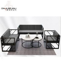 Nouvelle conception du châssis en métal canapé ensemble mobilier pour le commerce de gros