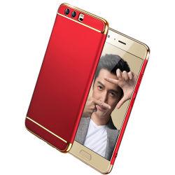 Intelligente galvanisieren3 in 1 PC hybridem Haut-rückseitiger Deckel-Fall für Huawei Gehilfen 7 8 9 PRO