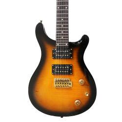 Matériel d'or Prs guitare électrique avec la solarisation couleur
