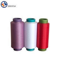 뜨개질을 하고 길쌈을%s 40d -100d 나일론 6 Fastness 색깔 진한 액체에 의하여 염색되는 DTY 털실