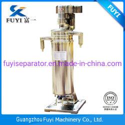 Verticale centrifugeert Tubulair van de Hoge snelheid van Fuyi voor de Separator van de Olie van de Kokosnoot