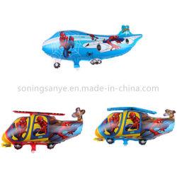 Dto0219 Niños juguete inflable de regalo Globos de Helio avión de combate de Mylar