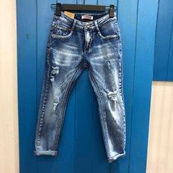 2019 estilo mais recente da criança Jeans