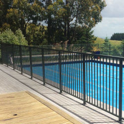 Venda a quente galvanizado revestido de Pó de Aço utilizado piscina Security