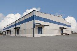 La fabrication de structures en acier de construction préfabriqués pour l'entrepôt/ atelier