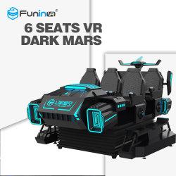 9d virtuele Werkelijkheid 6 de Simulator van Vr van de Simulator van de Auto van Zetels