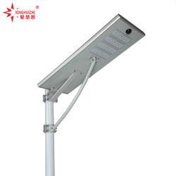 費用有効高品質の極度の明るい保証3年のの1つのLEDの太陽軽い太陽街灯のすべてを統合した