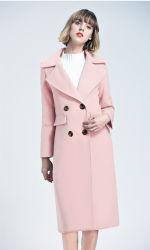 女性の新しいStlyeの方法ウールのコート