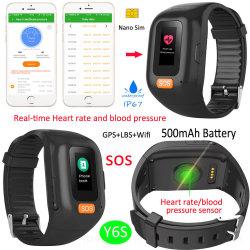 IP67 imprägniern älteren Armband GPS-Verfolger mit Puls-und Blutdruck-Monitor Y6s
