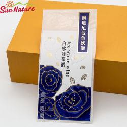 Sun-Natur-Eis-weißer Wein-prägengoldfolien-Aufkleber-Papier