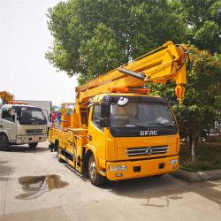 18m de haut le fonctionnement en altitude Chariot Mobile Truck-Mounted plate-forme d'antenne