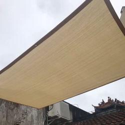 Het polyester de Gebreide Zeil van de Schaduw en HDPE Doek van de Schaduw voor Waterdicht