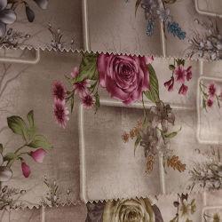 Terciopelo impreso para el sofá, muebles, cortinas de tela