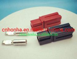 75A 600V Batterie-Gabelstapler-Energien-schwarzer oder roter Verbinder-aufladenstecker mit relevanten Terminals