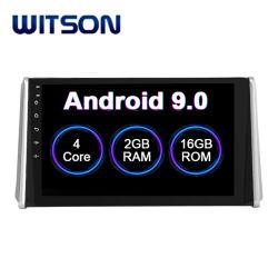 Witson 10.2 '' grosser Bildschirm-Auto-DVD-Spieler GPS für Toyota RAV4 2019