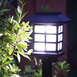 Jardim exterior, Home Lawn, Courtyard Palacete Solar Luz de LED