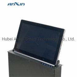 Tabletop ordinateur moniteur motorisé de levage et de l'avance du matériel de bureau