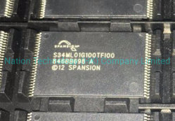 Spansion 섬광 - 낸드 기억 장치 IC 48tsop S34ml01g100tfi000