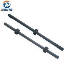 M12 x 100 мм метрический углеродистой стали и нержавеющей стали горячей DIP мобилизации HDG полностью резьбы шпильки крепления штока с резьбой
