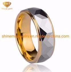 人のものもらいの単一の贅沢な金張りのリングのタングステンのリングTst2823