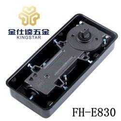 FH-E830 verre/bois matériel porte en aluminium de plancher/printemps plus proche de charnière de montage