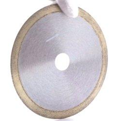 Blad van de Zaag van de Rand van de diamant het Ononderbroken Natte Scherpe voor Ceramiektegel en Glas