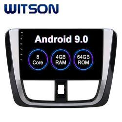 Lecteur multimédia Witson Android 9.0 Voiture pour 2017 Toyota Yaris 4 Go de RAM 64 Go de mémoire Flash grand écran dans la voiture lecteur de DVD