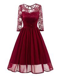 L'automne Mesdames sexy robe de Banquet Backless imprimé partie Slim Fit robe creux