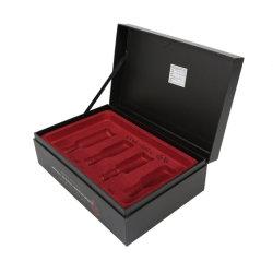 Het hete Verkopende Vakje van het Document van de Gift van Kerstmis van de Douane Stijve Kosmetische