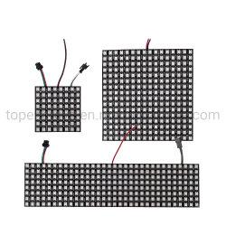 Ws2812b Panel-Bildschirm 8*8, 16*16, 8*32 Pixel Digital flexibles LED programmiertes einzeln adressierbares farbenreiches DC5V des Pixel-256