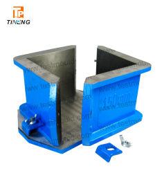 Stahlroheisen-Plastikwürfel-Form